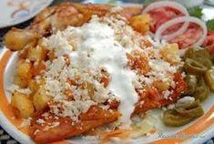 Enchiladas Mineras receta original de la abuela