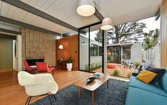 Mid-century Modern Interior Inspiration. See something you love? Visit us. https://www.sunbeamvintage.com/