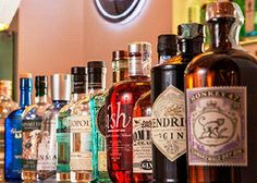 When it comes to creating a successful bar that will stand the test of time premium gin is the most important category, new research shows Whiskey Bottle, Vodka Bottle, Gin Brands, Gin And Tonic, Mixed Drinks, Spirit, Success, Bar, Collections