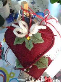 piccolo cuore natale - by Luisa Valent