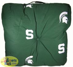 College Covers Michigan State Spartans Floor Pillow