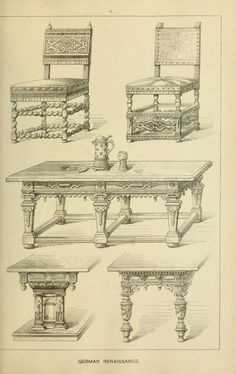 Elements of style in furniture and woodwork – 48 фотографий