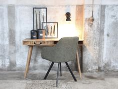 Home Design, Office Desk, Dining Chairs, Furniture, Home Decor, Desk Office, Decoration Home, Home Designing, Desk