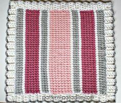 Essentials Baby Blanket Crochet Pattern by Pattern-Paradise.com