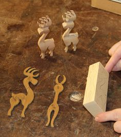 Wooden Reindeer Figures: http://www.instructables.com/files/orig/FY1/C2E2/HOTJREZS/FY1C2E2HOTJREZS.pdf