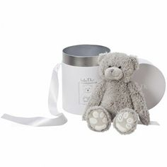 Baby Dior teddy bear in gift box: $110.00