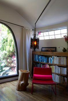 Peggy & Chris' Los Angeles Modern- That lantern.