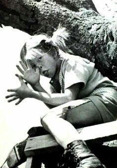 pippi longstocking/långstrump - my childhood hero by astrid lindgren Pippi Longstocking, Old Pictures, Old Photos, Photo Black, Role Models, Make Me Smile, Childhood Memories, Childrens Books, Famous People