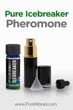 Pure Icebreaker is intended to elicit an open, friendly and sexy aura. Use this Icebreaker formula to appear approachable, playful and charming. It is best used in situations when you are meeting somebody new, to break the ice, or to instantly disarm beautiful women, and create attraction and fun interaction. Want to impress someone when meeting them... #Pheromone #Vibe