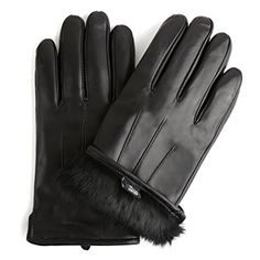 Back To Search Resultsapparel Accessories Sheepskin Suede Gloves Womens Winter Thick Warm Parrot Rabbit Fur Lining Girls Black Bow Style Leather Finger Gloves