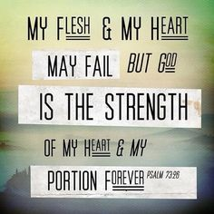 ibibleverses:  God is the strength More at http://ibibleverses.christianpost.com