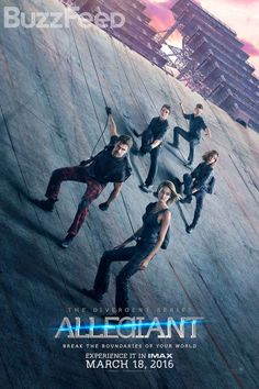 And if that's not enough to tide you over, check out the theatrical poster for The Divergent Series: Allegiant, opening March 18, 2016.