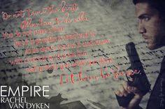 Empire by Rachel Van Dyken (Eagle Elite #7)