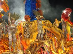 Carro alegórico Salgueiro Rio Carnaval 2012 Desfile Sambódromo Rio de Janeiro Carnival Carioca Brazil Brasil samba Marquês de Sapucaí Segunda by SeLuSaVa, via Flickr