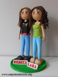 www.unpocodetodo.org - Fofuchas de Rebeca y Lara - Fofuchas - Goma eva - crafts - manualidades - personalizado - 7