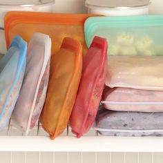Sustainable alternatives to plastic bags: The Stasher reusable freezer bag