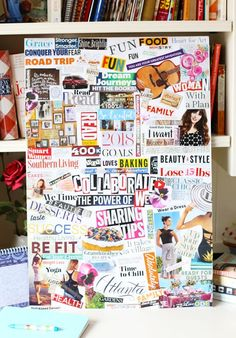 Second Chance To Dream - 9 Inspiring Vision Board Ideas If you want to create a vision board this year then you will love these 9 Inspiring Vision Board Ideas to help you rock your goals and dreams. Vision Board Template, Digital Vision Board, Vision Board Ideas Diy, Vision Boards Examples, Trauma, Goal Board, Creating A Vision Board, Visualisation, Mood