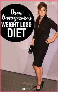 Drew Barrymore's Weight Loss Diet That Helped Her Lose 20 Pounds #weightloss