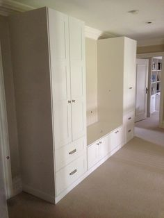 Hallway storage - left hand side. Like the tall cupboard on both sides