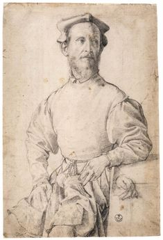 Jacopo Carrucci, called Il Pontormo, 1497-1554 Mannerist painter famous for his use of twining poses, coupled with ambiguous perspective; his figures often seem to float in an uncertain environment, unhampered by the forces of gravity.