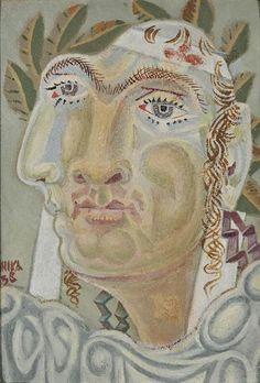 Νικηφόρος (1938)  Τέμπερα σε ξύλο    Εθνική Πινακοθήκη