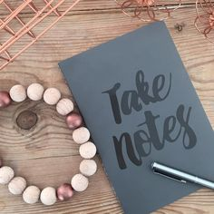 Do you have some important Notes to take? Use a Sostrene Grene Notebook like @louisewiese #takenotes #sostrenegrene