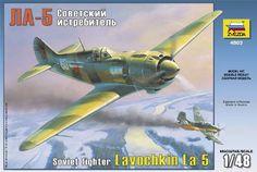 Zvezda Lavochkin LA-5 - Modeledo.pl