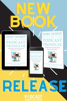 Fresh off the press is our book that will provide you with the roadmap to your podcast production success! Transform Your Podcasting Passion into Profit! Now available on Amazon for purchase.