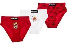 Angry Birds tyttöjen alushousut 3kpl - koko 110/116 cm. 5,55 € Myös muut käy.