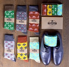 Socks Socks gift box Birthday gift men's by MoustardLondon Modern Groom, Gift Box Birthday, Man Crafts, Modern Gentleman, Colorful Socks, Groom Attire, Fathers Day Gifts, Gifts For Him, Trending Outfits