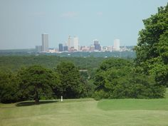 Tulsa Skyline - view from the west.