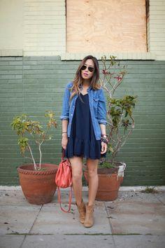 Camisa Jeans e botinha