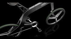 Audi | Audi Bike | The Folding Urban Bike by Vladimer Kobakhidze