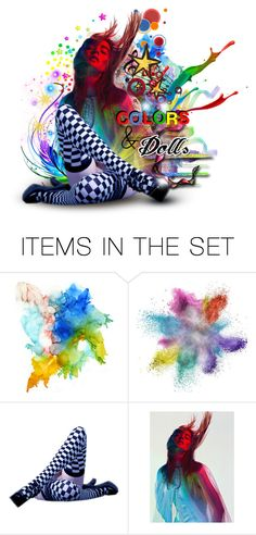 """Colors & Dolls Logo Contest"" by sophisticatedignorance21 ❤ liked on Polyvore featuring art"