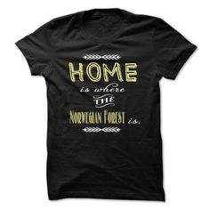 Home is where the Norwegian Forest is. T Shirt, Hoodie, Sweatshirt
