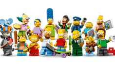 Simpsons lego! Gonna try to find these for my brother.