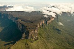 Roraima aerial view of La Proa (The Bow ) by Raul Sojo on artflakes.com as poster or art print $16.63