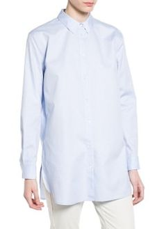 Oversize long t-shirt - Blouses and shirts for Women | OUTLET