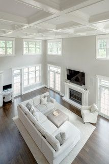 Modern Luxury - Modern - Living Room - Boston - by Fresh Start Contracting Company Contracting Company, Living Room Modern, Luxury Living, Modern Luxury, Family Room, Ottoman, Entryway, Bed, Furniture