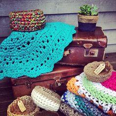 #crochet xxl #rugs #alfombras de #trapillo #ganchillo