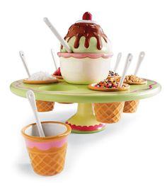 Ice Cream Topping Carousel
