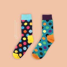 Men's Socks Delicious 1 Pair Male Cotton Socks Colorful Striped Jacquard Art Socks Multi Pattern Long Happy Funny Skateboard Socks Mens Dress Sock Street Price