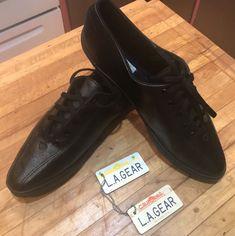 LA Gear Black Ladies Shoes Running Sneaker Athletic Wear 1994 With Keychain | eBay