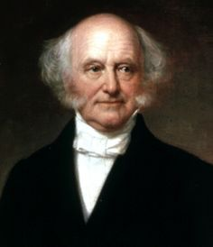 Martin Van Buren...8th President of the united States... Served one term from 1837-1841