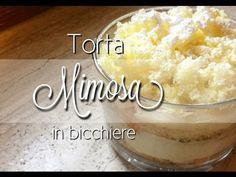 Torta mimosa - IN BICCHIERE monoporzione