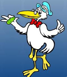 Vlasic Pickle Stork