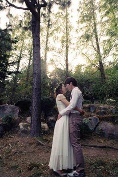 self wedding / date snap