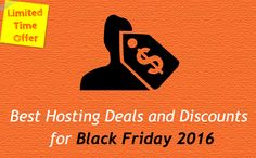 Best Hosting Deals and Discounts for Black Friday 2016