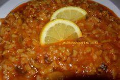 ΜΑΓΕΙΡΙΚΗ ΚΑΙ ΣΥΝΤΑΓΕΣ: Λαχανόρυζο διαφορετικό σκέτο άρωμα !!!! Yams, Greek Recipes, Chili, Soup, Vegetables, Cooking, Yummy Yummy, Trust, Skinny