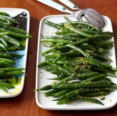 Green Beans Two Ways   Food & Wine